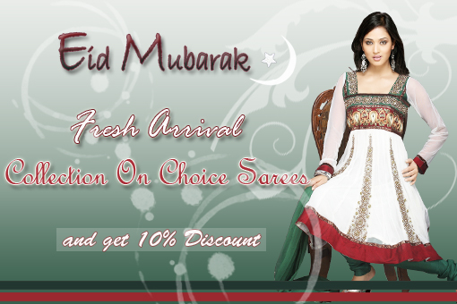 Celebration of Eid at Choice Sarees